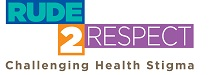 Rude2Respect – Challenging Health Stigma Logo